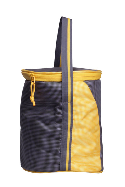 F Gear Cyli 7 Ltrs Grey, Yellow Lunch Bag (2419)