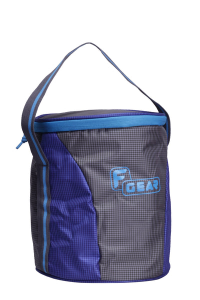 F Gear Cyli 7 Ltrs Grey, Blue Lunch Bag (2420)