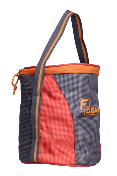 F Gear Cyli 7 Ltrs Grey, Orange Lunch Bag (2421)