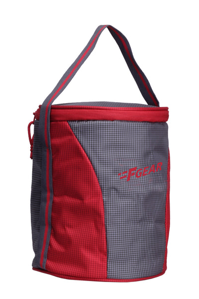 F Gear Cyli 7 Ltrs Grey, Red Lunch Bag (2422)