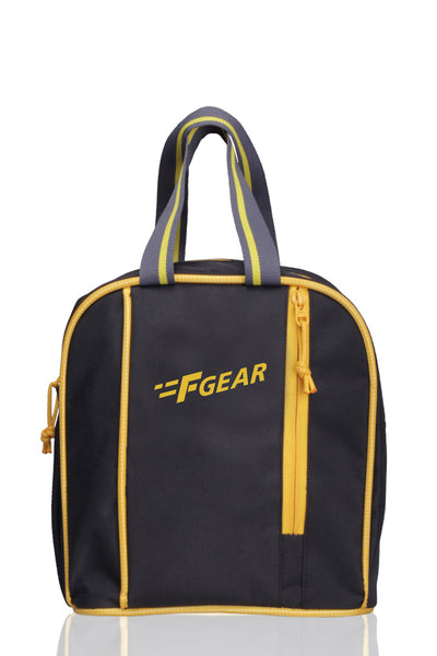 F Gear Gat 6 Ltrs Black, Yellow Lunch bag (2423)