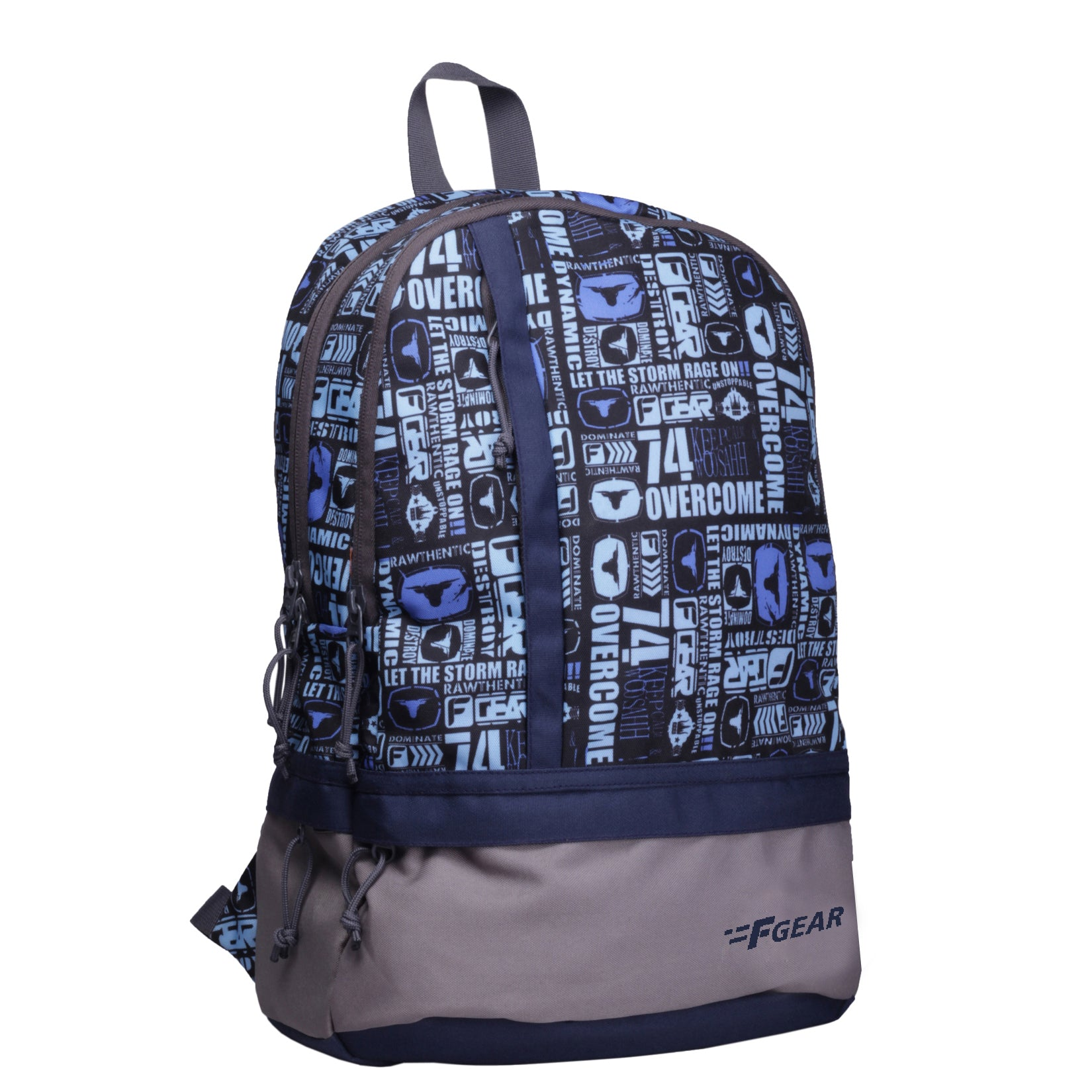 F Gear Burner P11 19 Ltrs Blue Casual Backpack (2437)