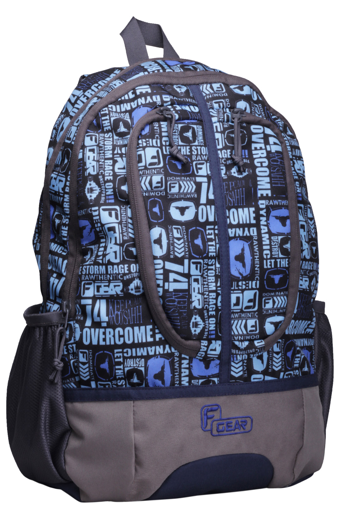 F Gear Dropsy P11 21 Liters Sky Blue Casual Laptop Backpack