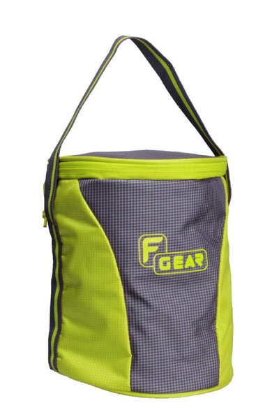 F Gear Cyli 7 Ltrs Grey, Green Lunch Bag (2478)