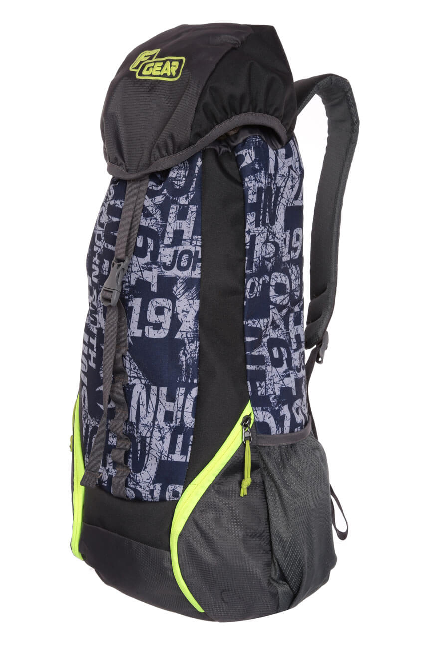 F Gear Trekker 34 Liters Grey Trekking Backpack