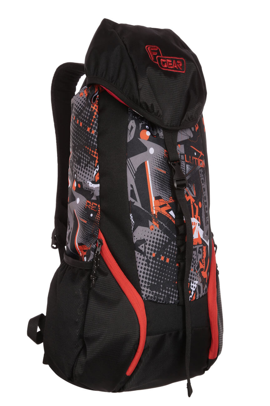 F Gear Trekker 34 Liters Orange Trekking Backpack