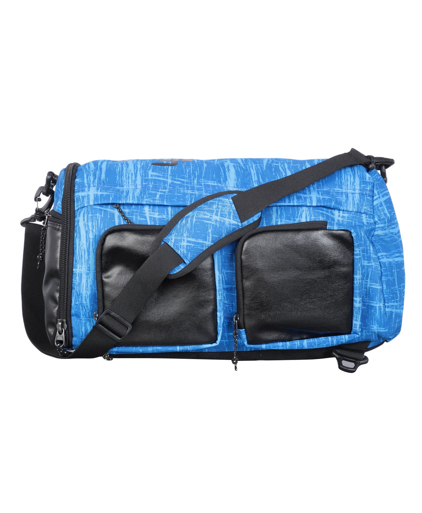 F Gear Xtreme Polyester 50 Ltrs Blue Travel Duffle (2562)