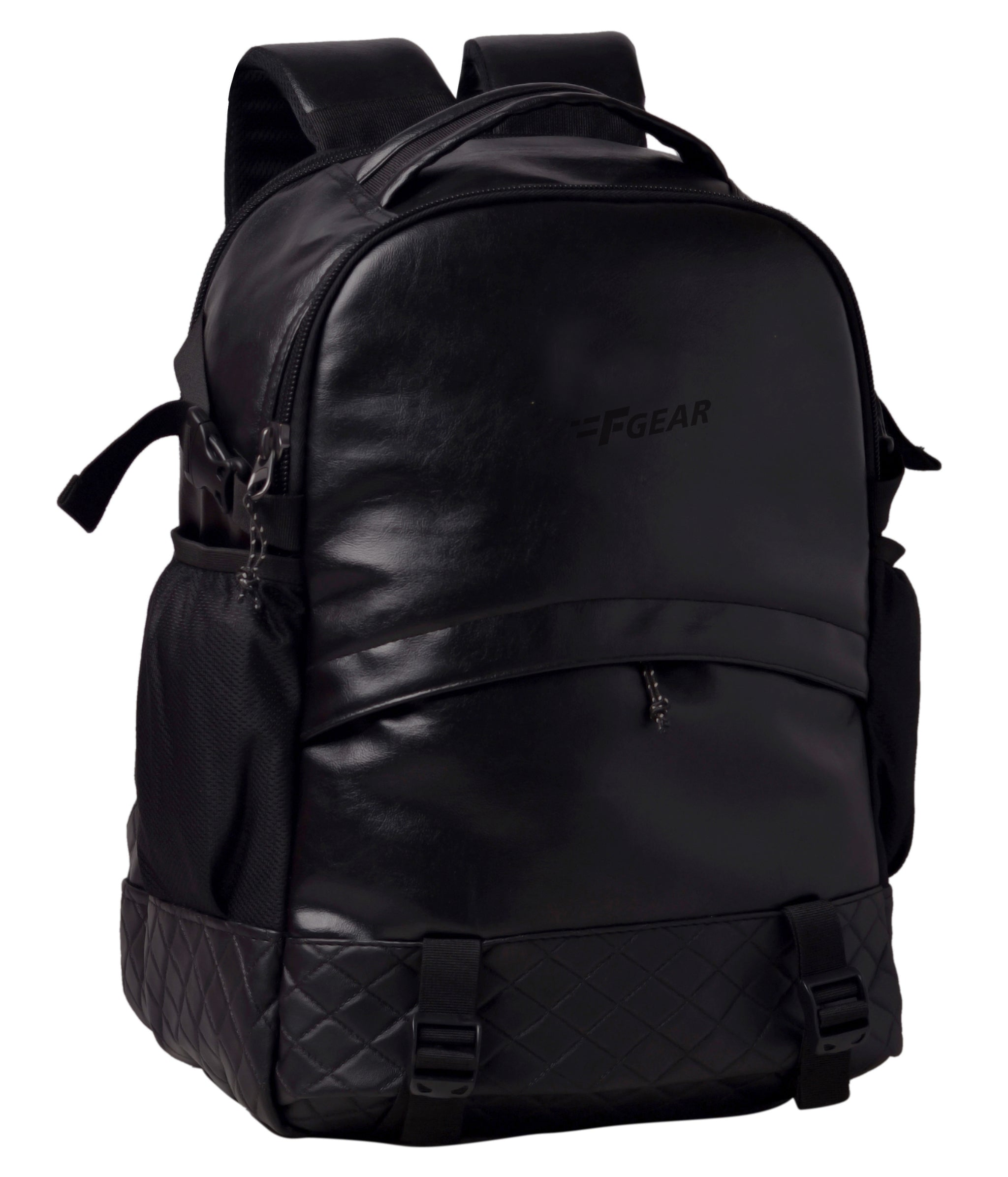 F Gear Sedna 27 Ltrs Black Artificial Leather Casual Backpack (2598)
