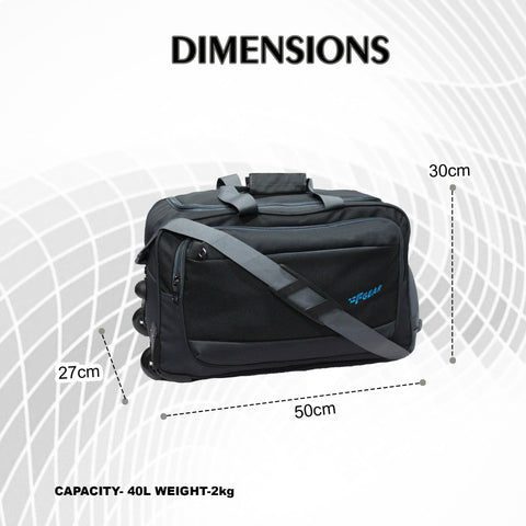 F Gear Walter Grey 20inch 40L Duffle Bag (3768)