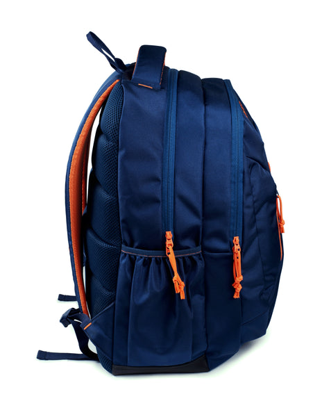 F Gear 37 Ltrs Amigo Guc Navy Orange School Backpack (3327)