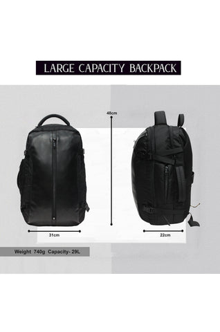 F Gear Geneva Black Executive Laptop Backpack 29L (3656)
