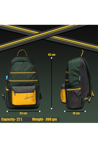 F Gear 22 Ltrs Inherent Spruce Casual Backpack (3447)