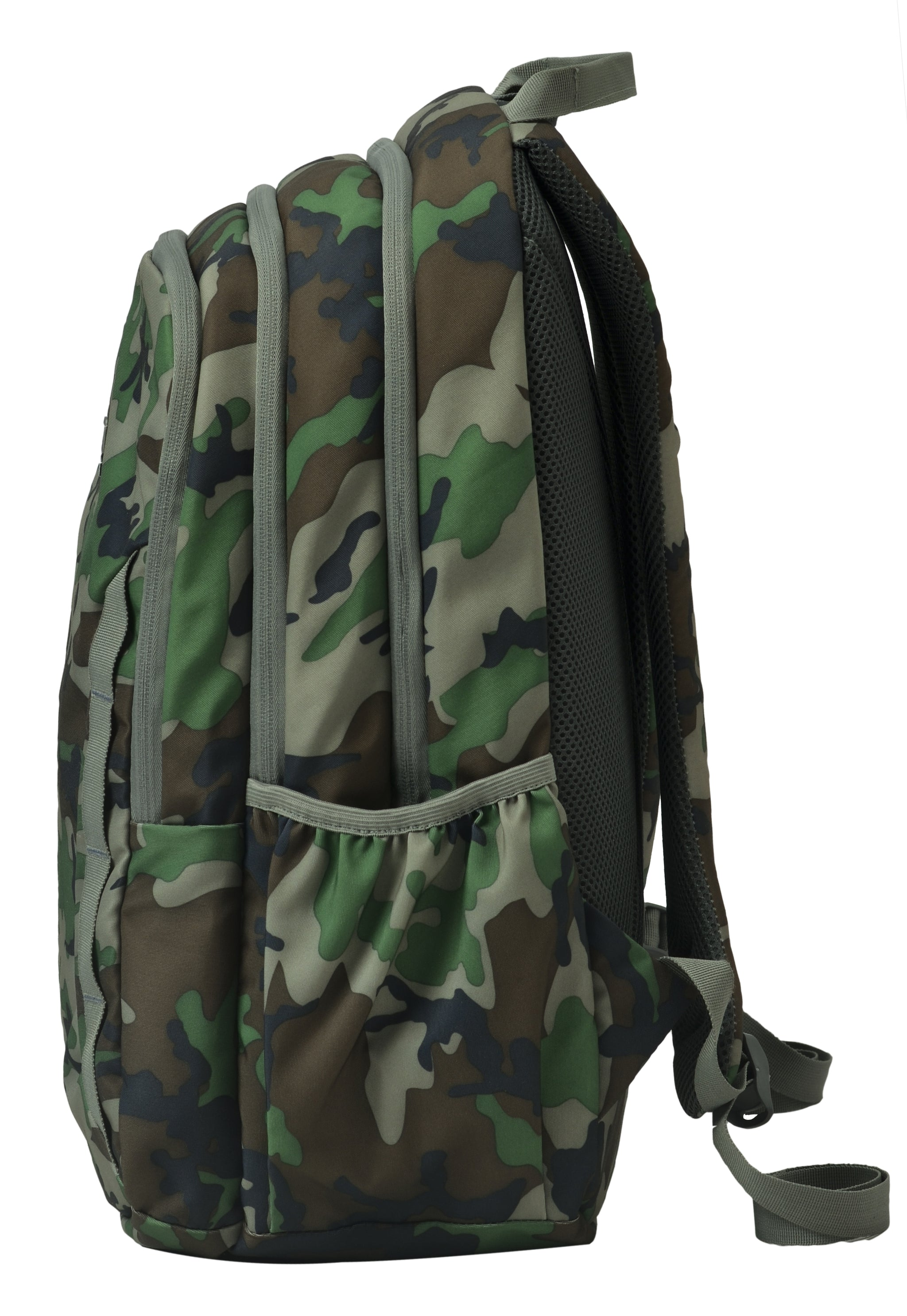F Gear Military Raider 30 Liter Backpack with Rain Cover (Woodland A Camo)