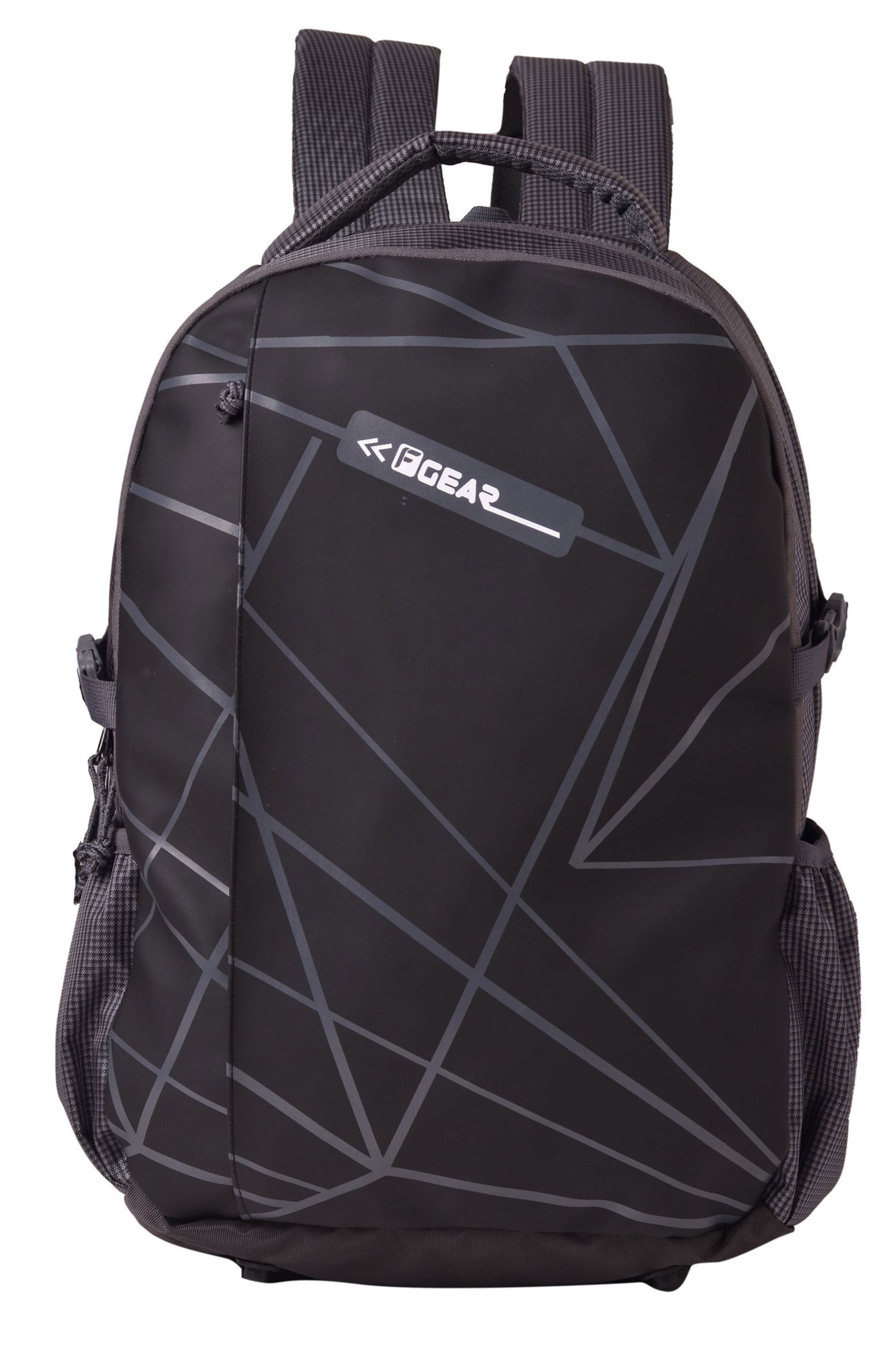 F Gear Talent Grey, Black 32 Liters Laptop Backpack With Rain Cover (2633)