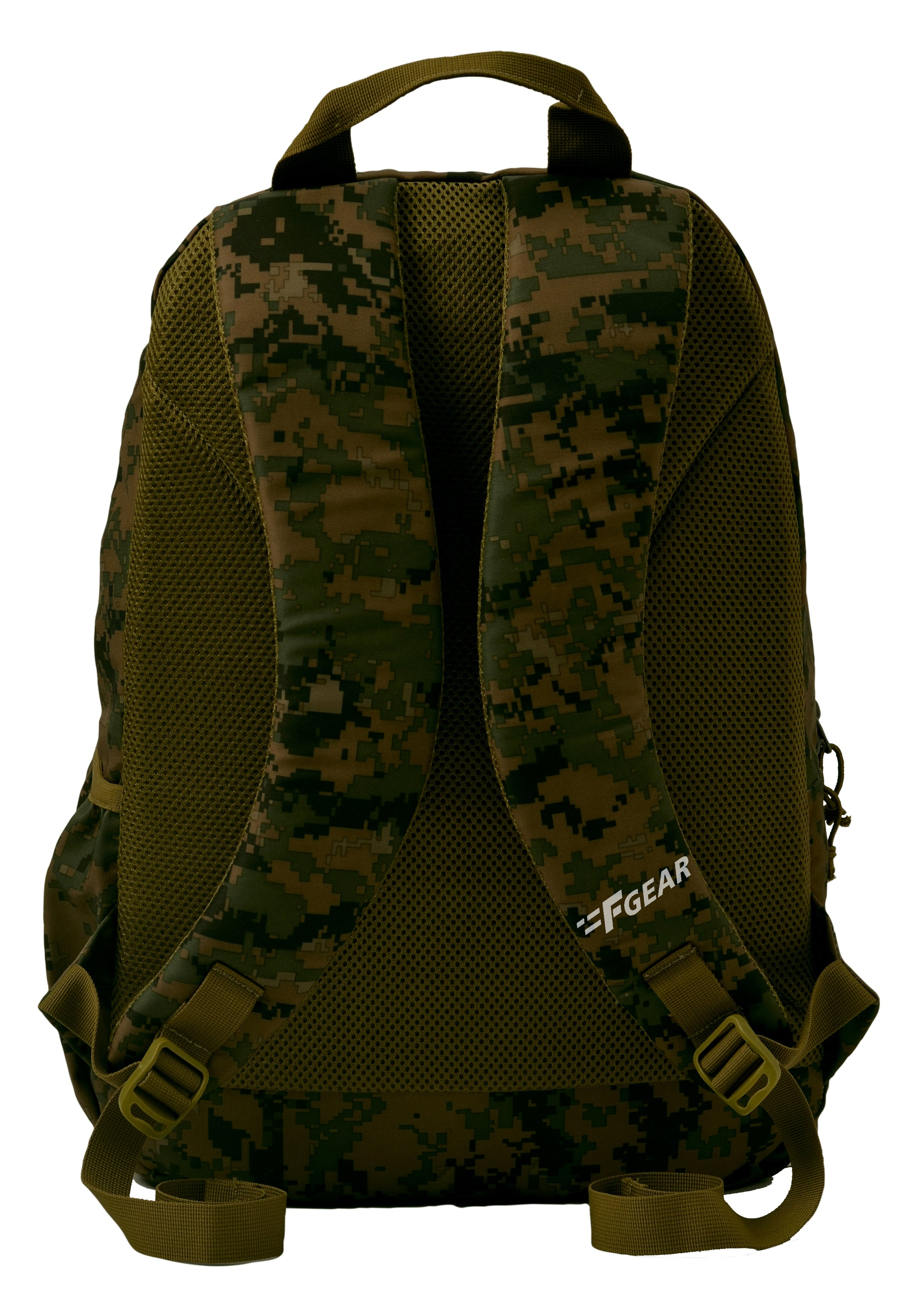 F Gear Military Raider Marpat WL Digital Camo 30 Liter Backpack with Rain Cover (2808)