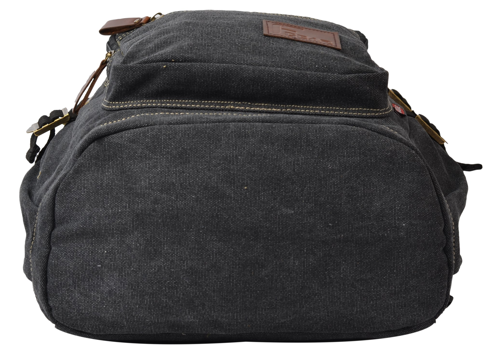 F Gear Intrepid 23 Liters Canvas Backpack (Black)