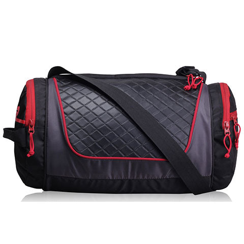 F Gear Astir Polyester 18 Ltrs Red Sports Duffel (2469)