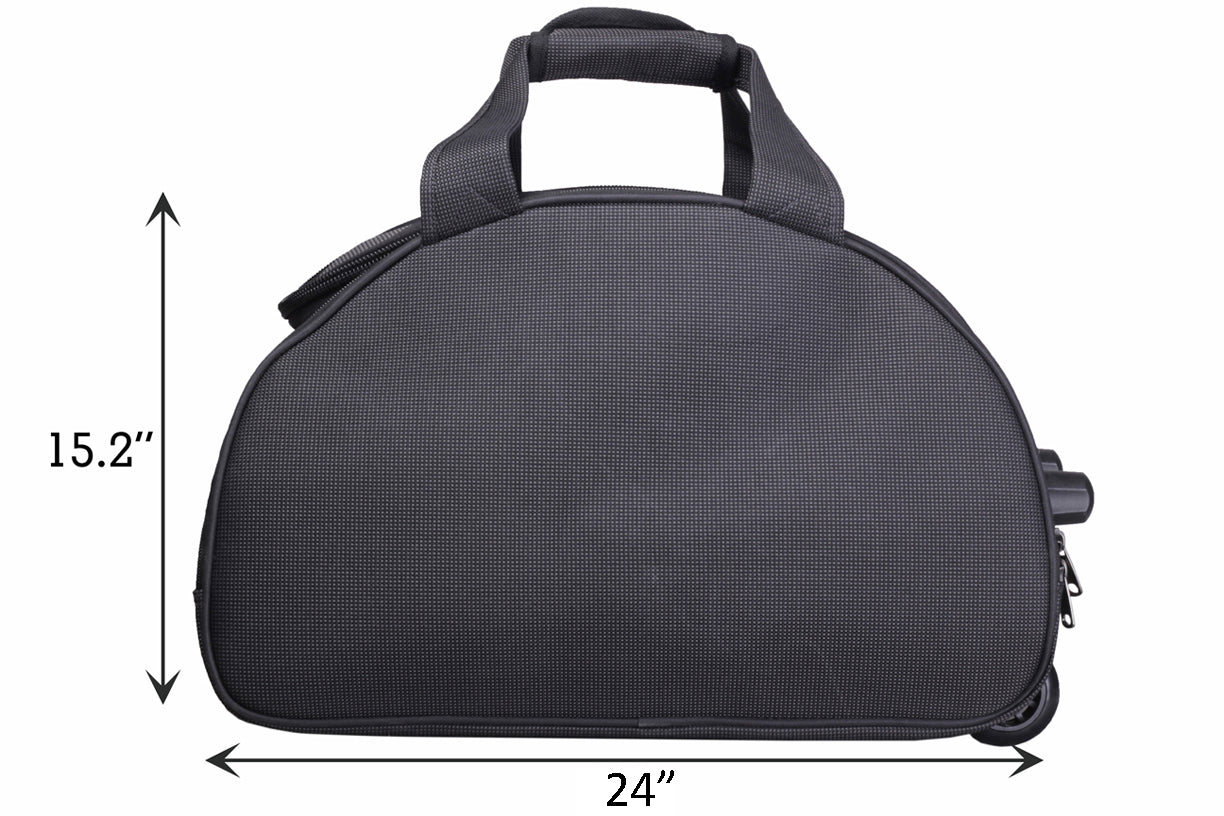 "F Gear Cooter 24"" Polyester 76 Ltrs Grey Travel Duffle (2384)"