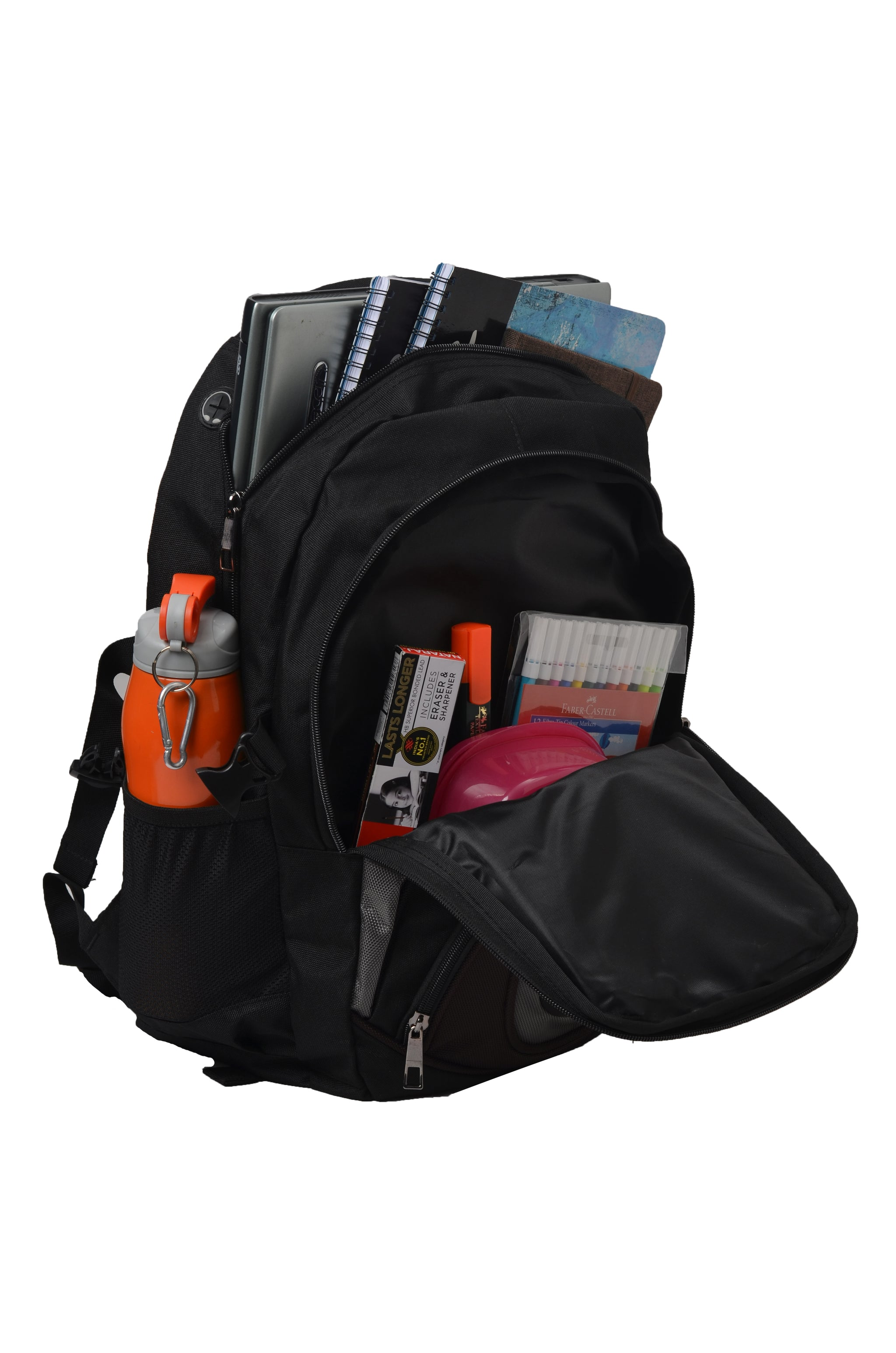 F Gear Axe 27 Ltr Black Casual Laptop Bag