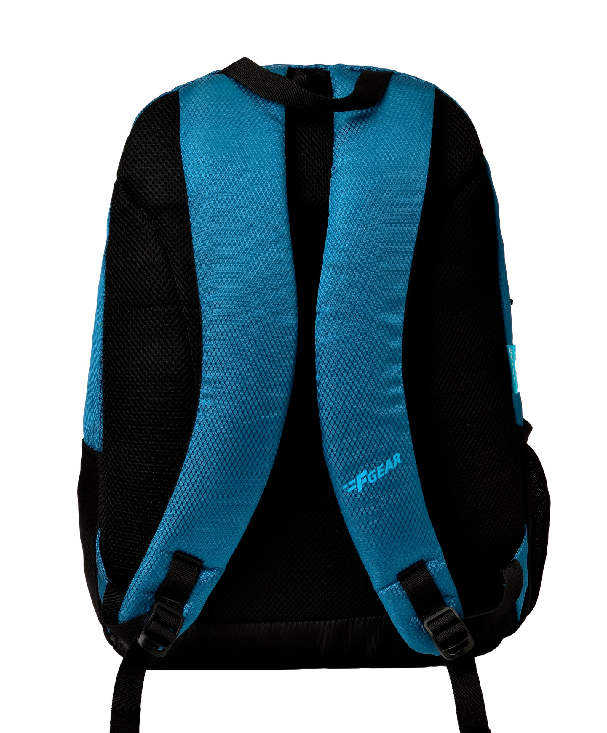 F Gear Borealis Marine Blue Diamond, Black Guc 25 Liters Backpack (2968)