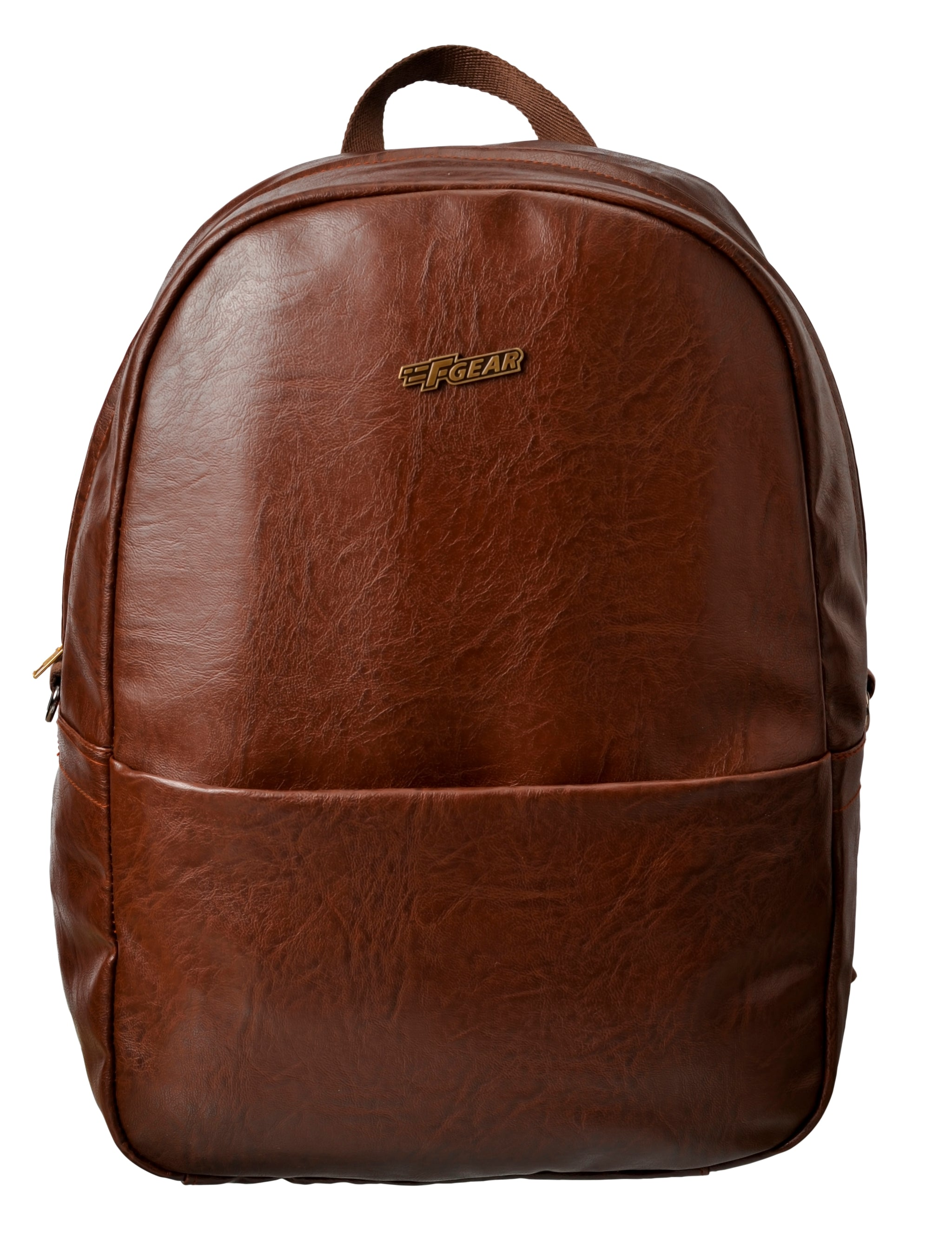 F Gear Electra Luxur 23 Ltrs Laptop Backpack (Brown)