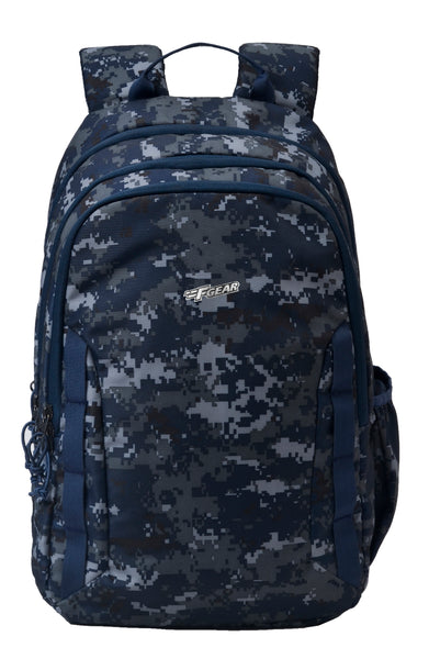 F Gear Military Raider 30 Liter Backpack with Rain Cover (Marpat Navy Digital Camo)