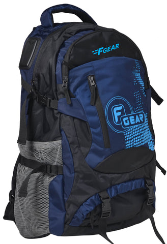 F Gear Orion Polyester 46 Ltrs Blue Trekking Laptop Backpack (2555)