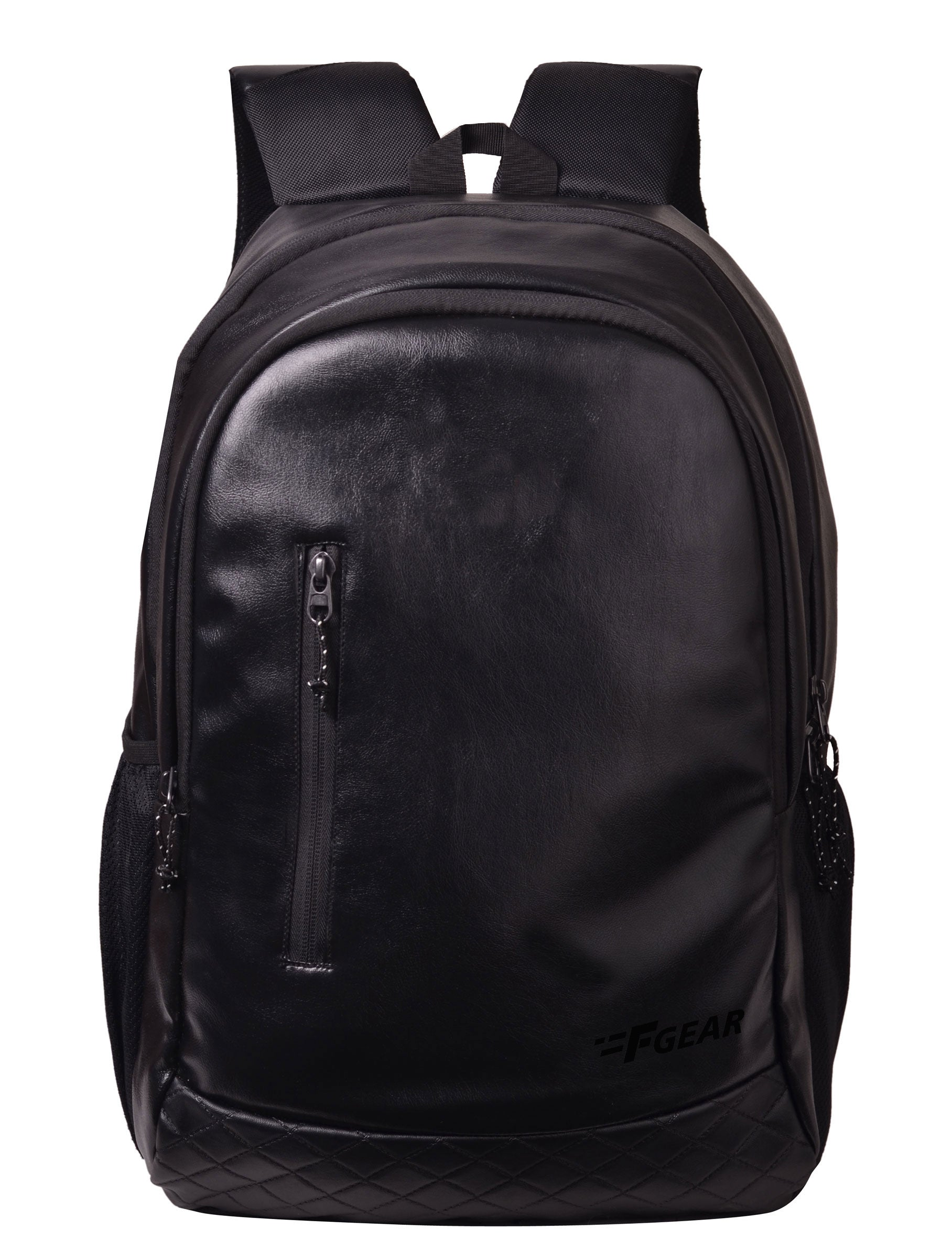 F Gear Bi Frost Executive 27 Ltrs Black Artificial Leather Laptop Backpack