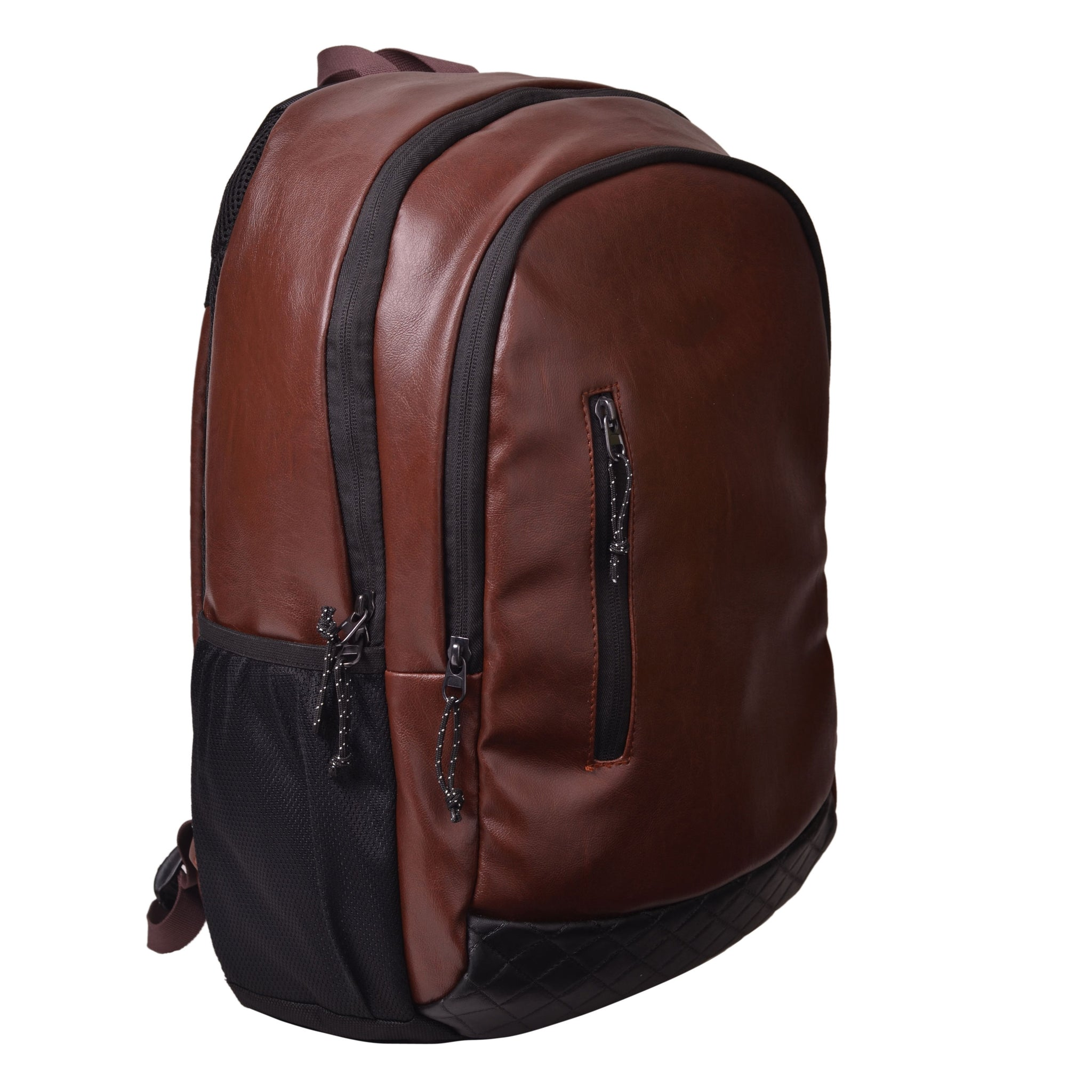 F Gear Bi Frost Executive 27 Ltrs Brown Laptop Backpack