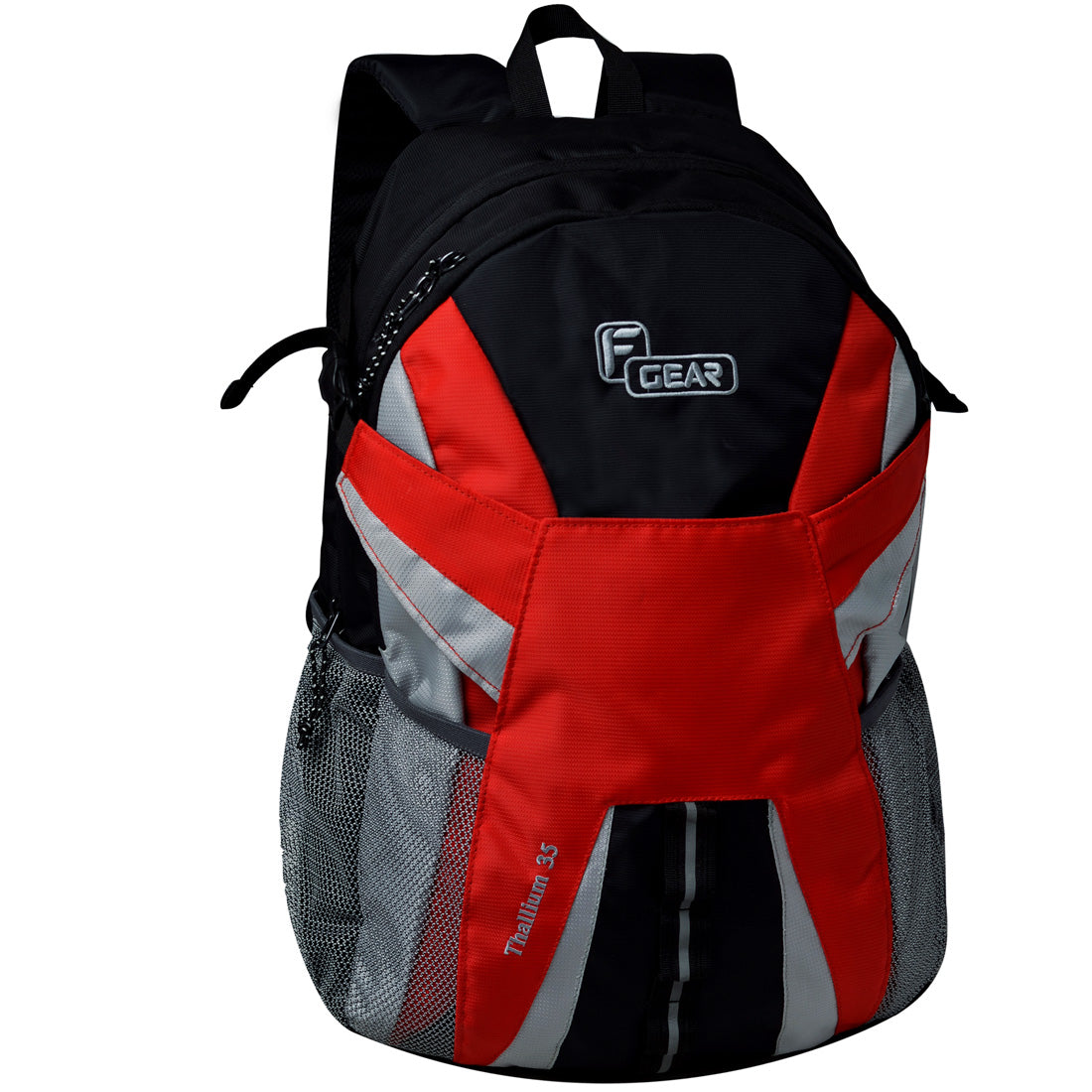 F Gear Britain 21 Ltrs Red Casual Laptop Backpack (2606)