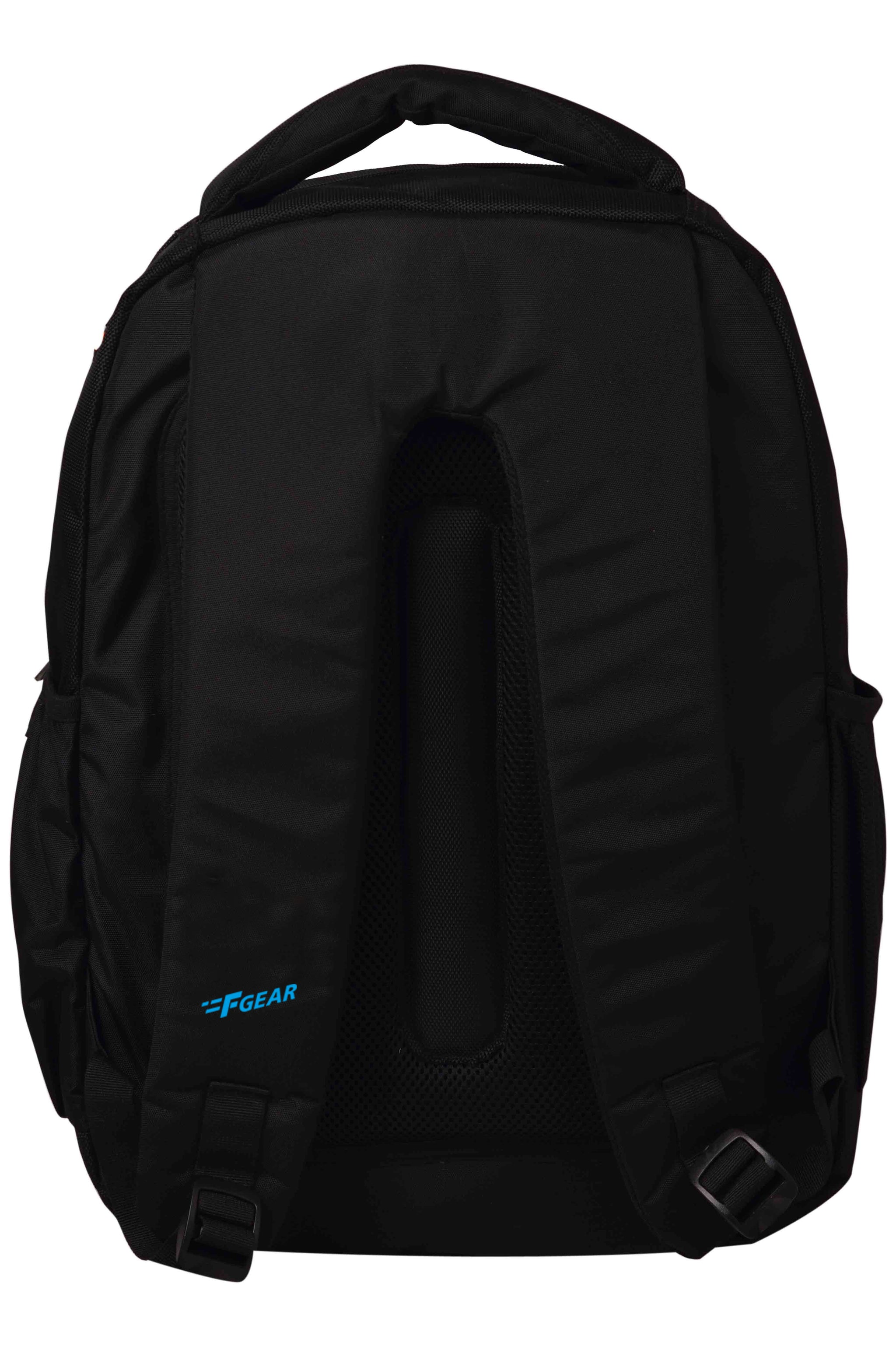 F Gear Booster V2 Polyester 43 Ltrs Black College Laptop Backpack (2574)