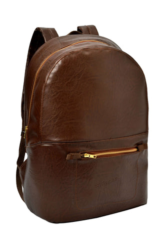 F Gear Mia Luxur 23 Ltrs Laptop Backpack (Brown)