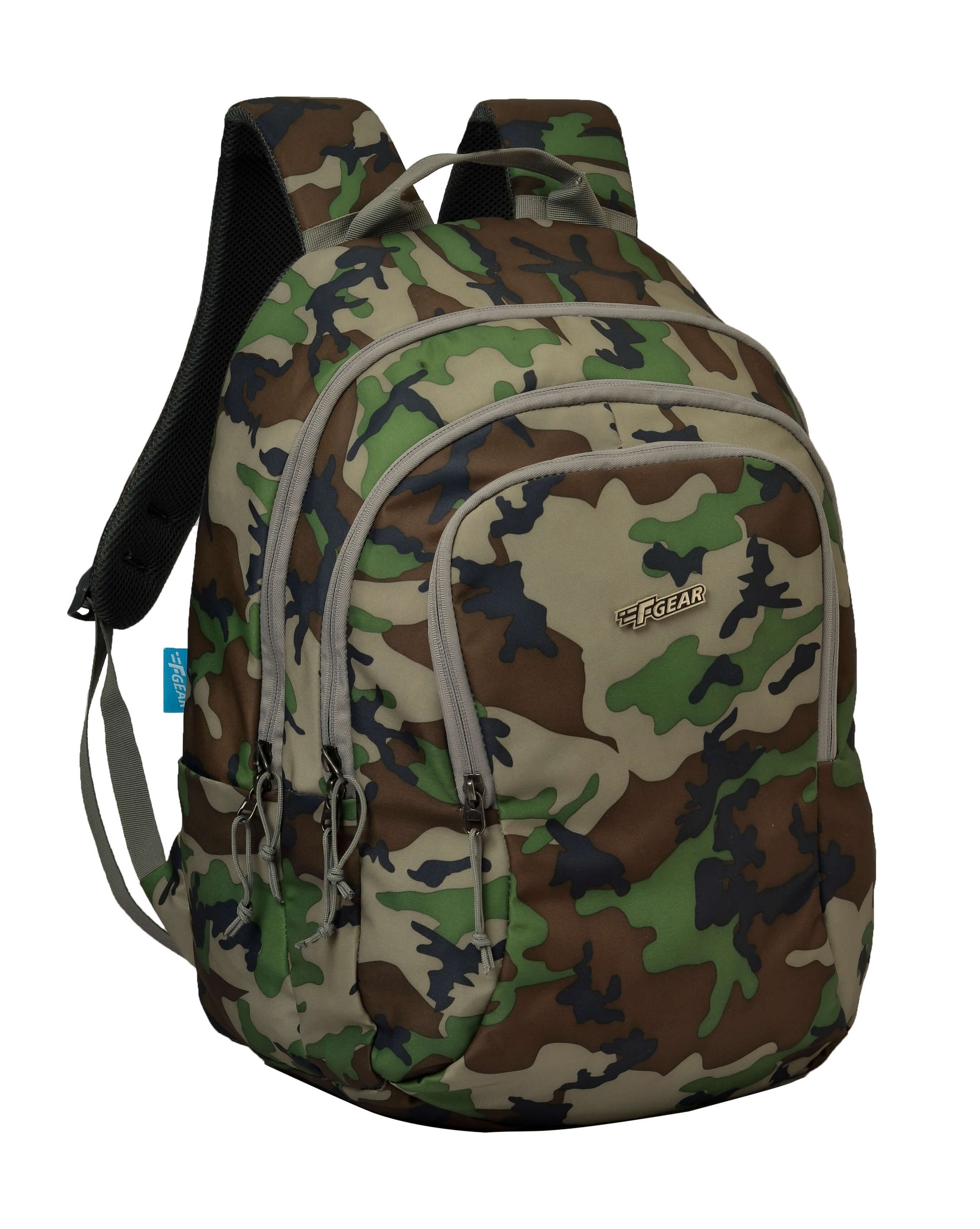 F Gear Military Crusader 30 Liter Backpack (Woodland A Camo)