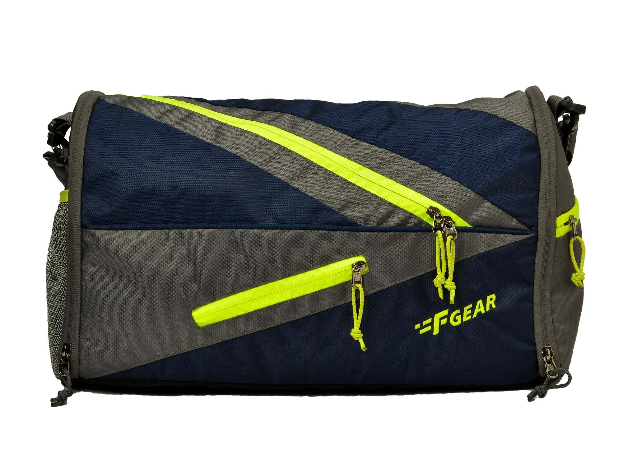 F Gear Surge 35 Liters Travel Duffle Bag (Navy Blue, Grey)