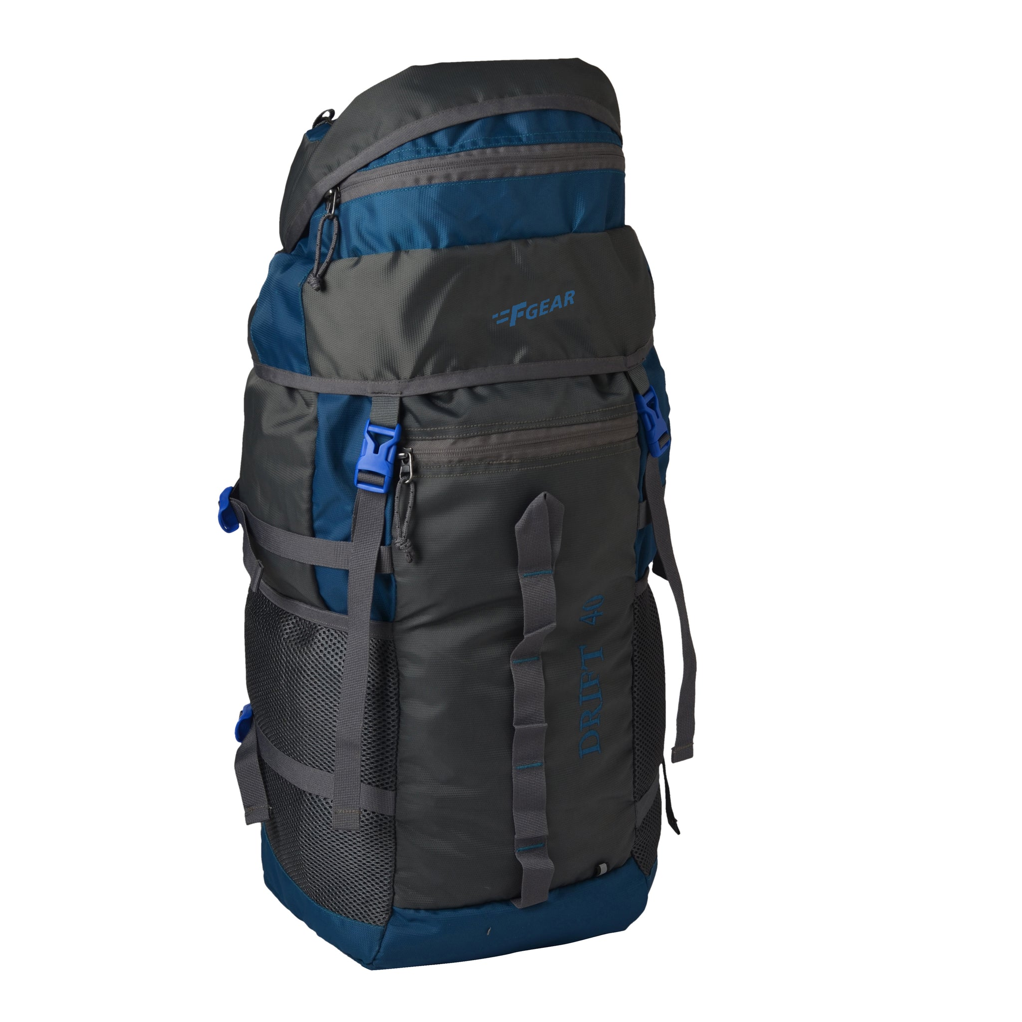F Gear Drift 40 liter Rucksack (T Blue, Grey)