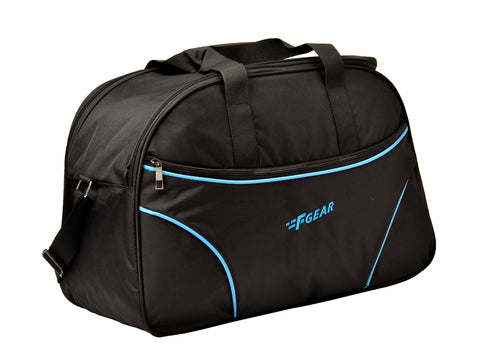 F Gear Maverick 45 Liter Black Blue Travel Duffel (2878)