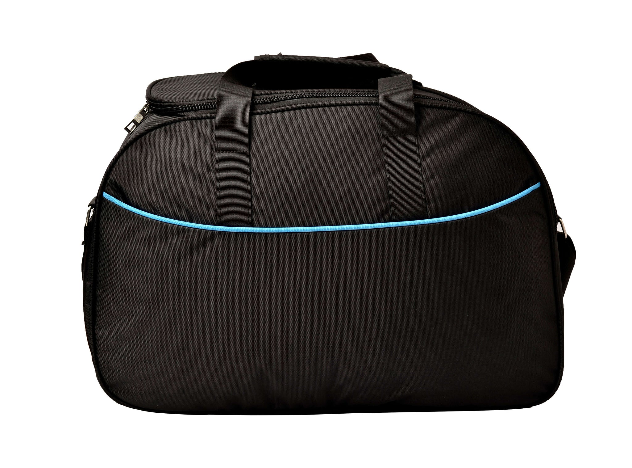 F Gear Maverick Black Blue 45 Liter Travel Duffel (2878)