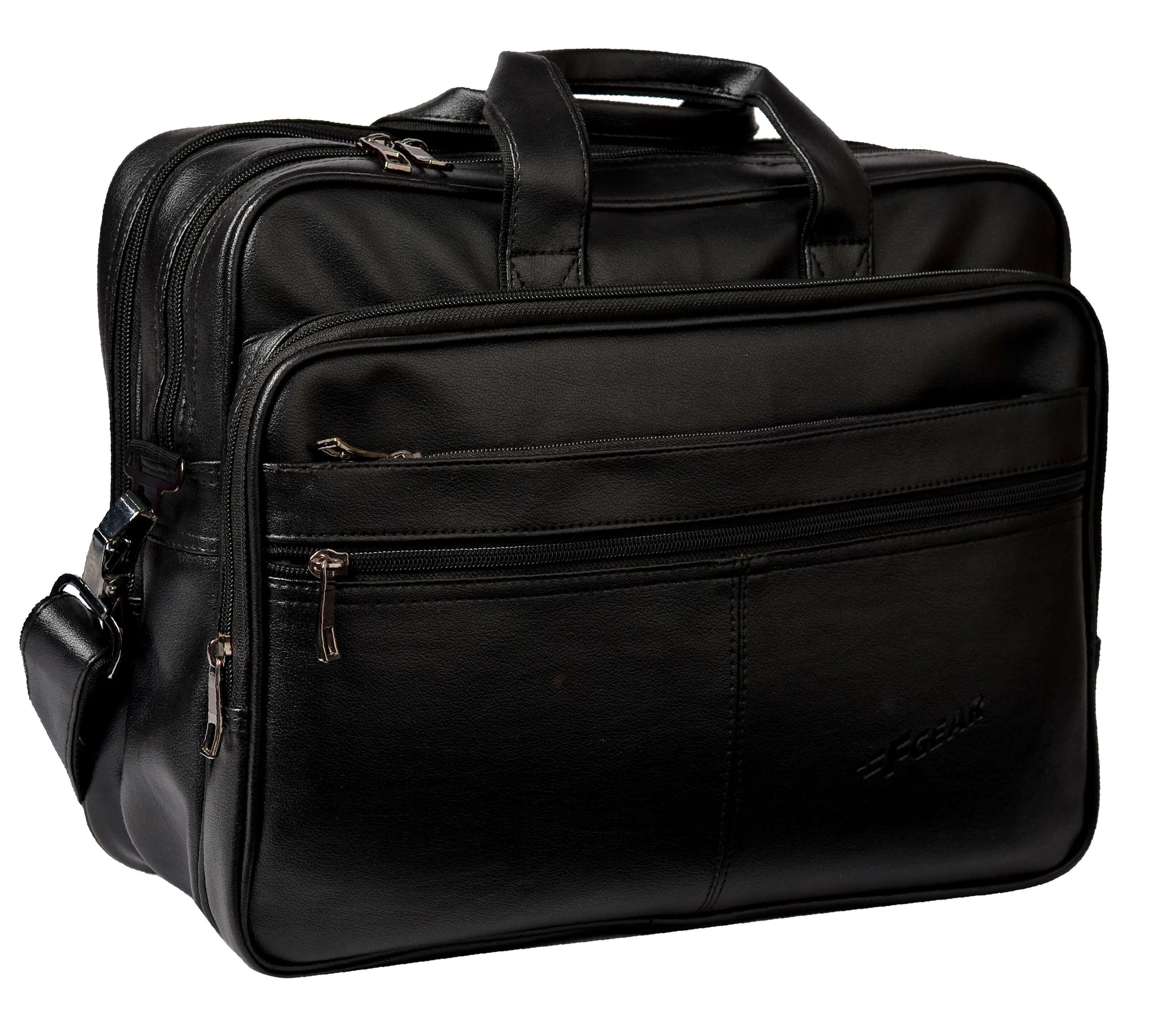 F Gear Hamilton 17 Liters Laptop Bag (Black)