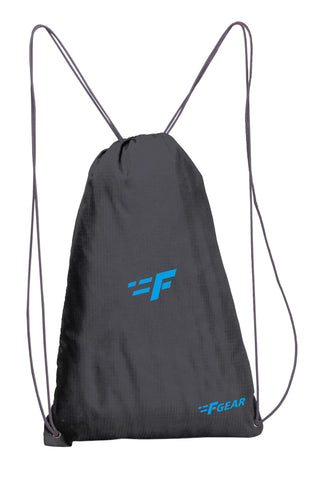 F Gear String 11 Ltrs Nylon Black Gym Bag