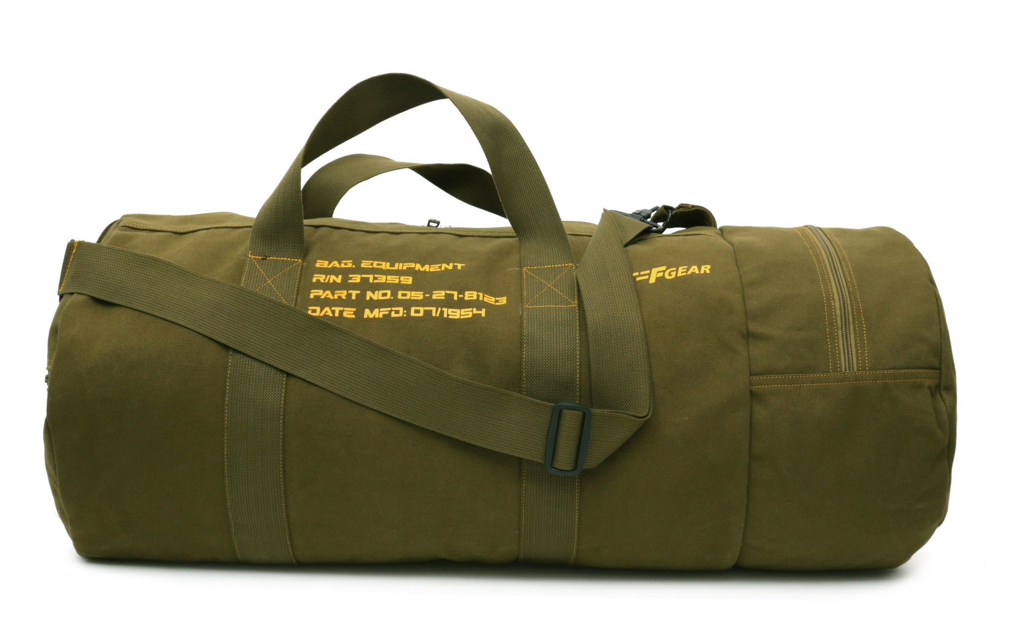 F Gear Soldier Canvas 76 cms Olive Travel Duffle (3003)