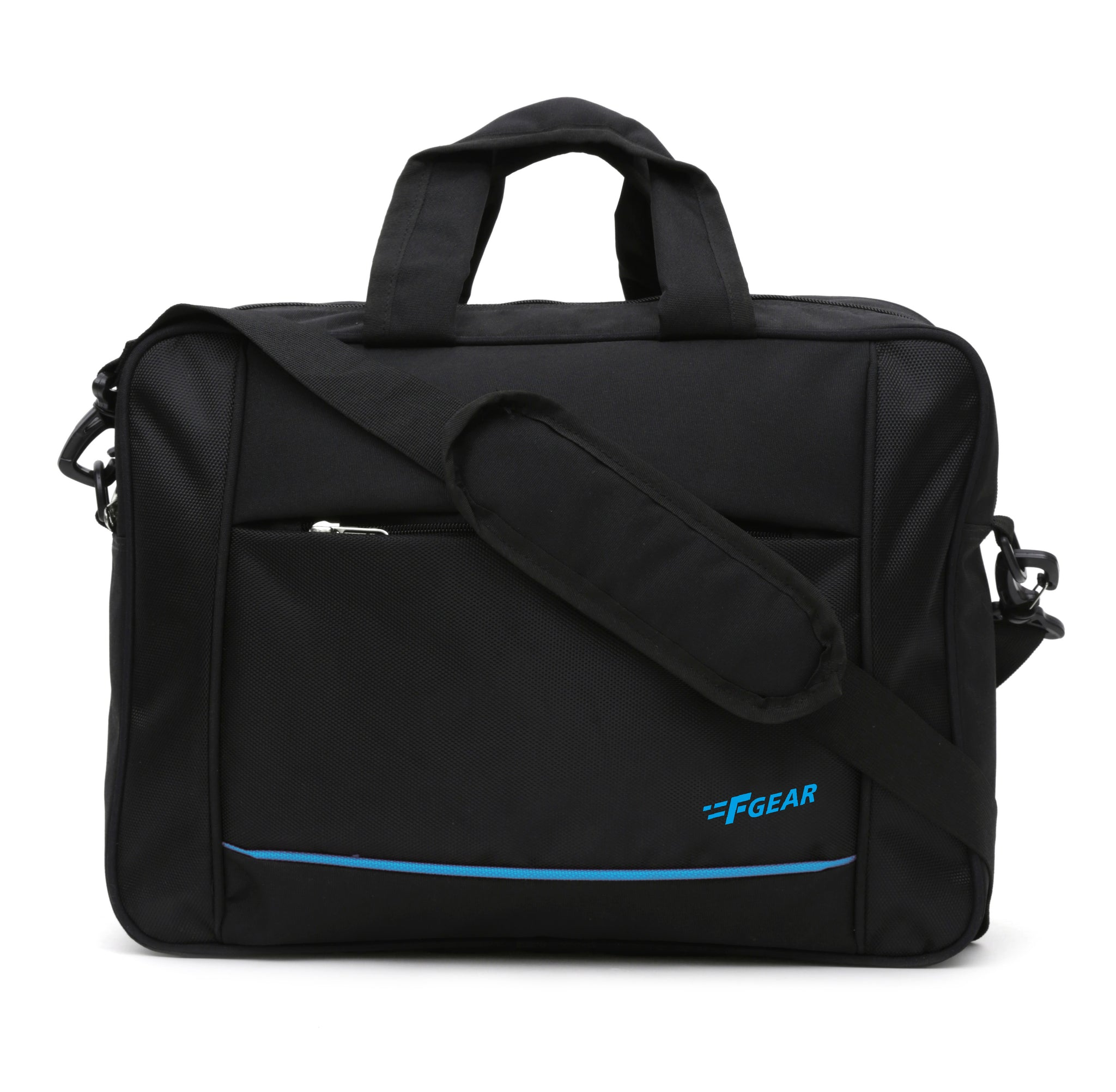 F Gear Fortis 20 Liters Laptop Bag (Black)