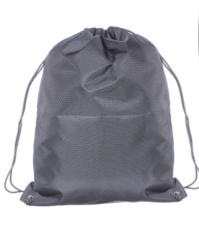 F Gear String V2 8 Ltrs Nylon Grey Gym Bag