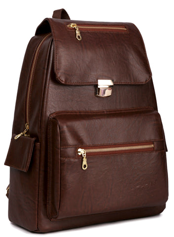 F Gear Healer 17 Liters Causal Backpack (Brown)