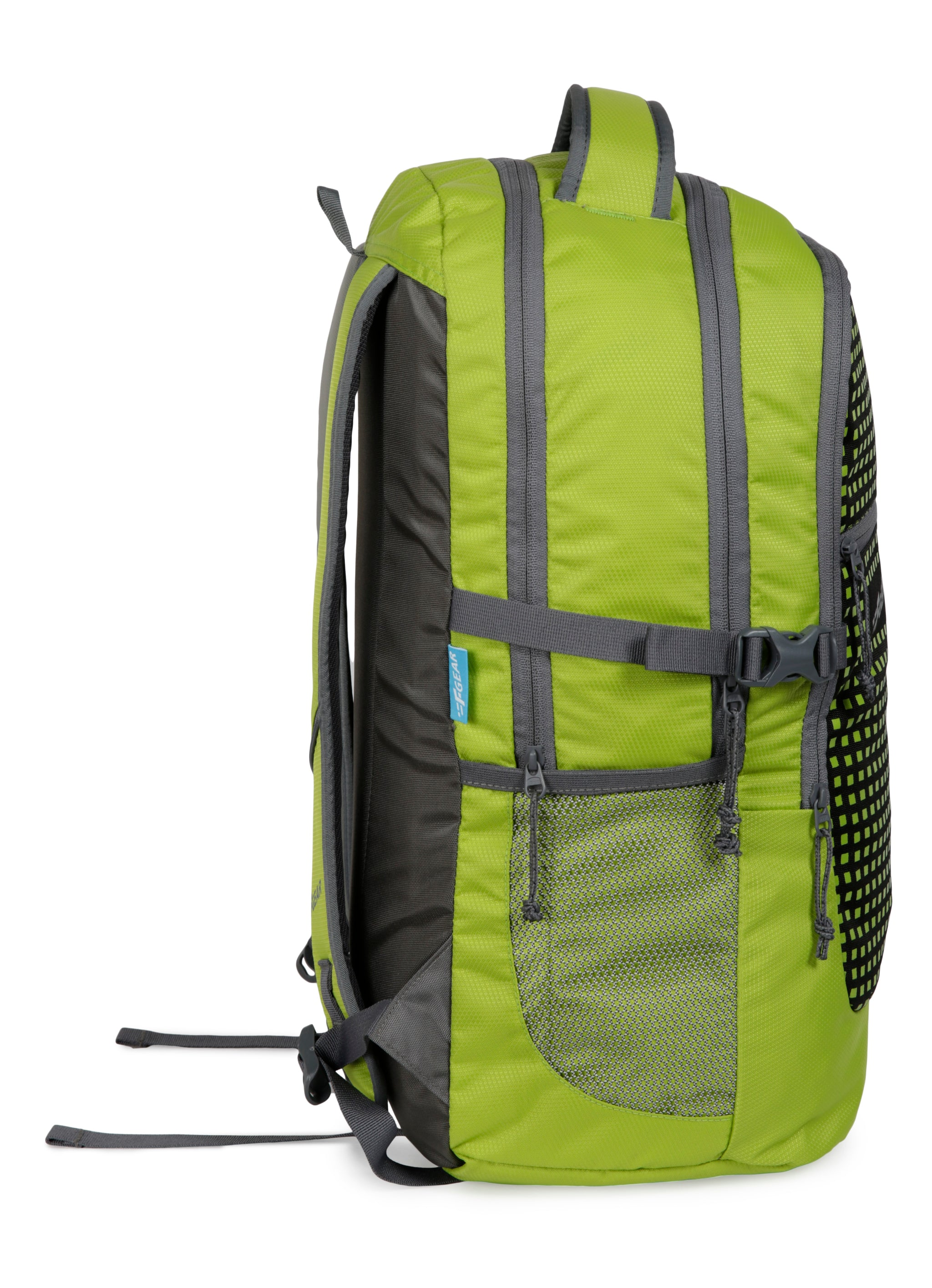 F Gear Blow 32 Ltrs Green Laptop Backpack with Rain Cover (3206)