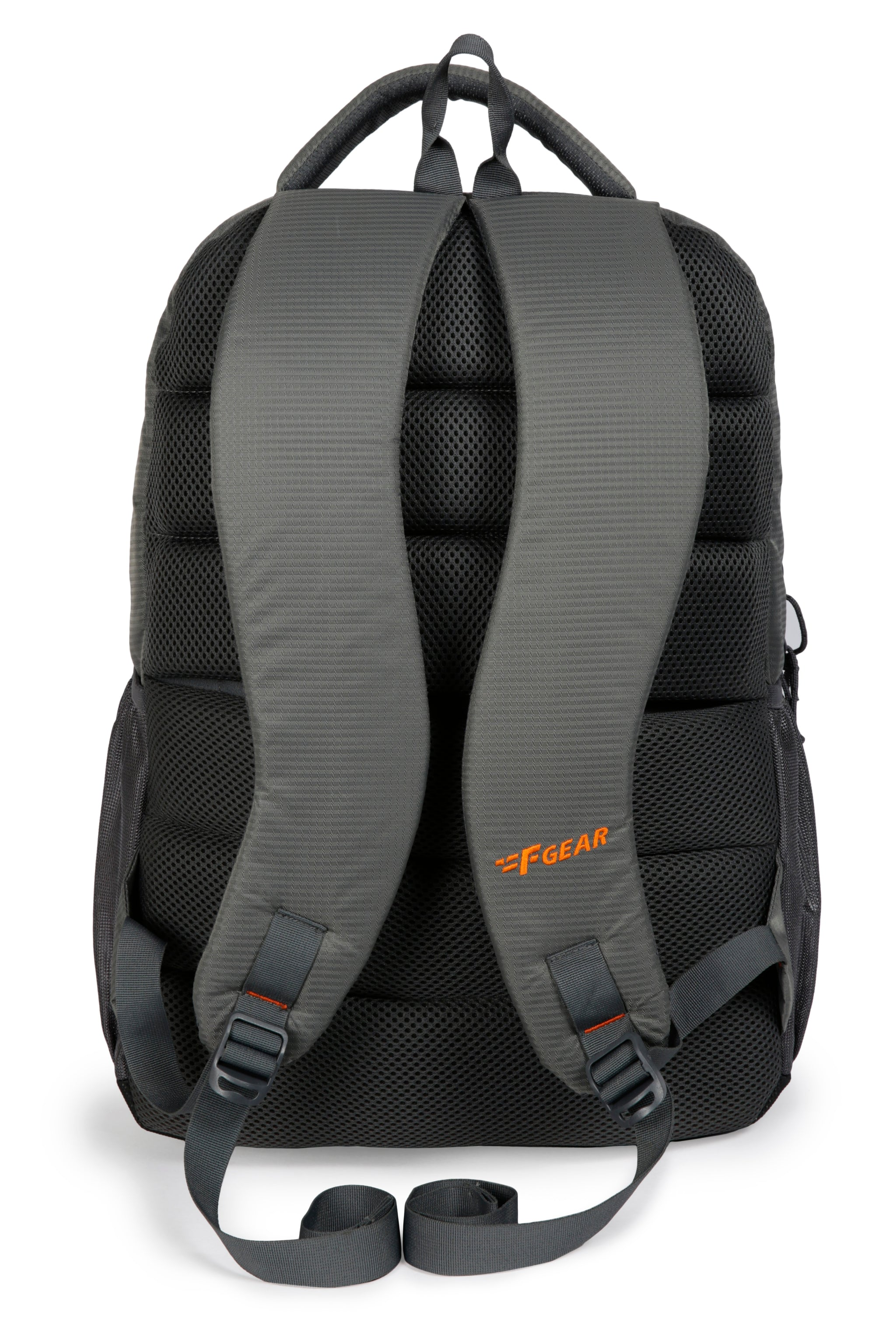 F Gear Amigo Doby 36 Ltrs Grey with Orange Casual Backpack (3222)