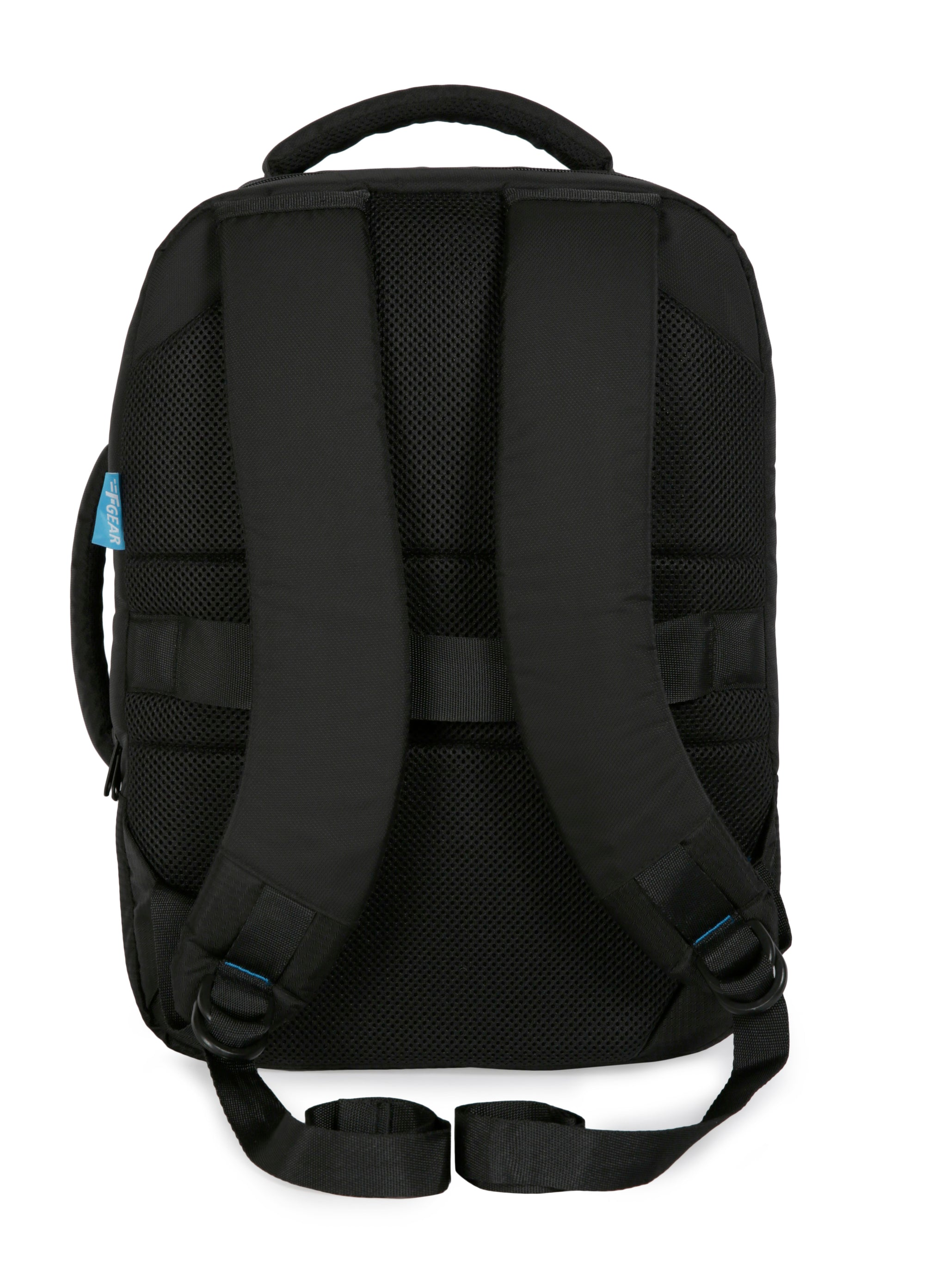 F Gear Spartan 24 Ltrs Black Laptop Backpack (3179)