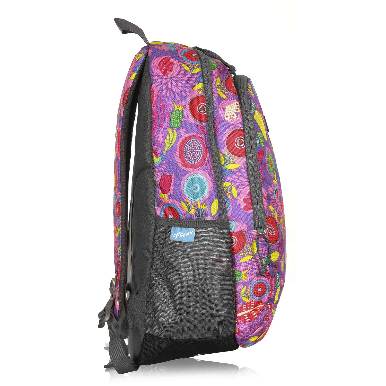 F Gear Castle Pine Pink Grey 22 L Polyester Backpack (3355)