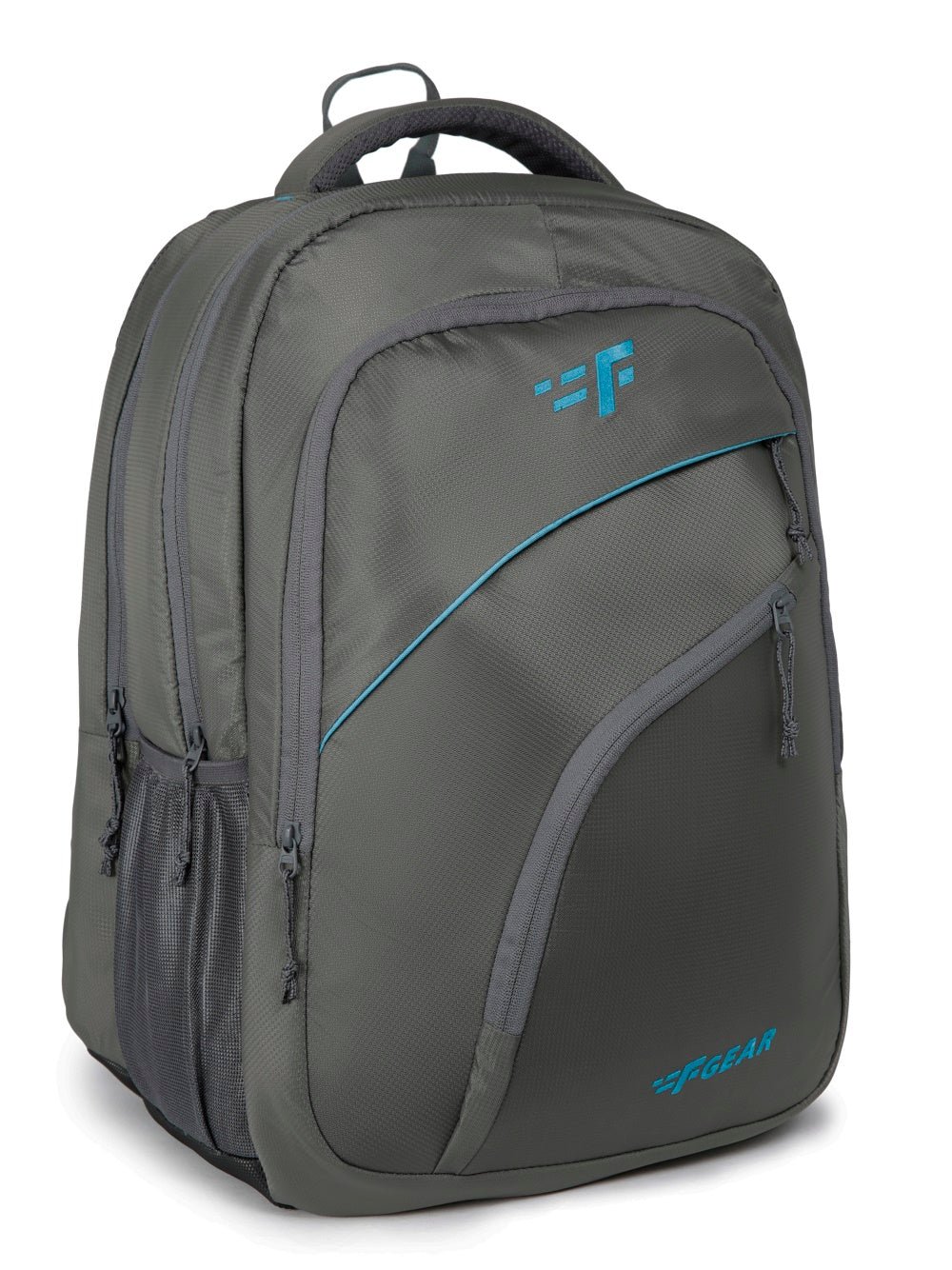 F Gear Millionaire Doby 36 Ltrs Grey Laptop Backpack with Rain Cover (3202)