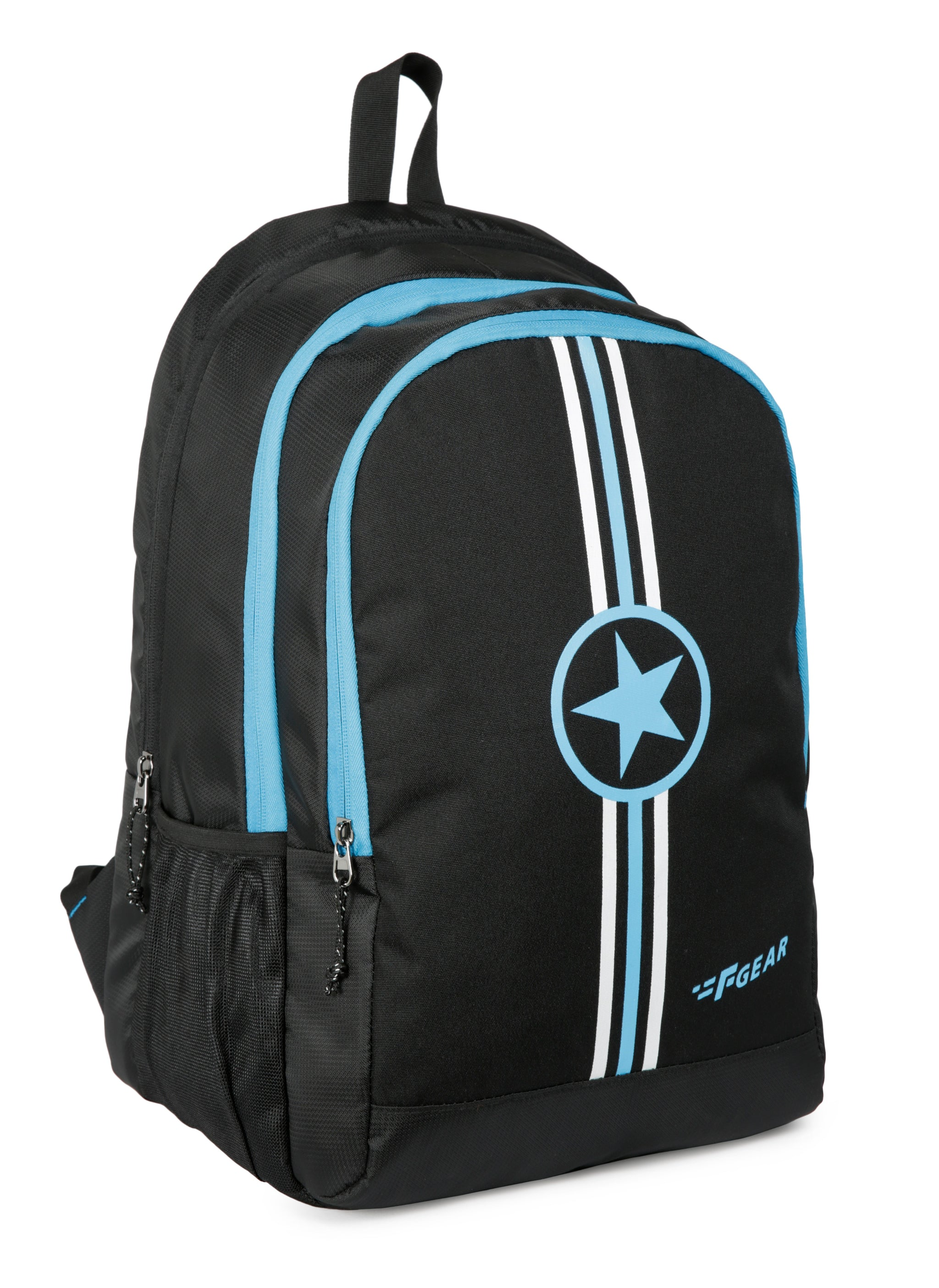 F Gear Star Doby 33 Ltrs Black, Blue Casual Backpack (3229)