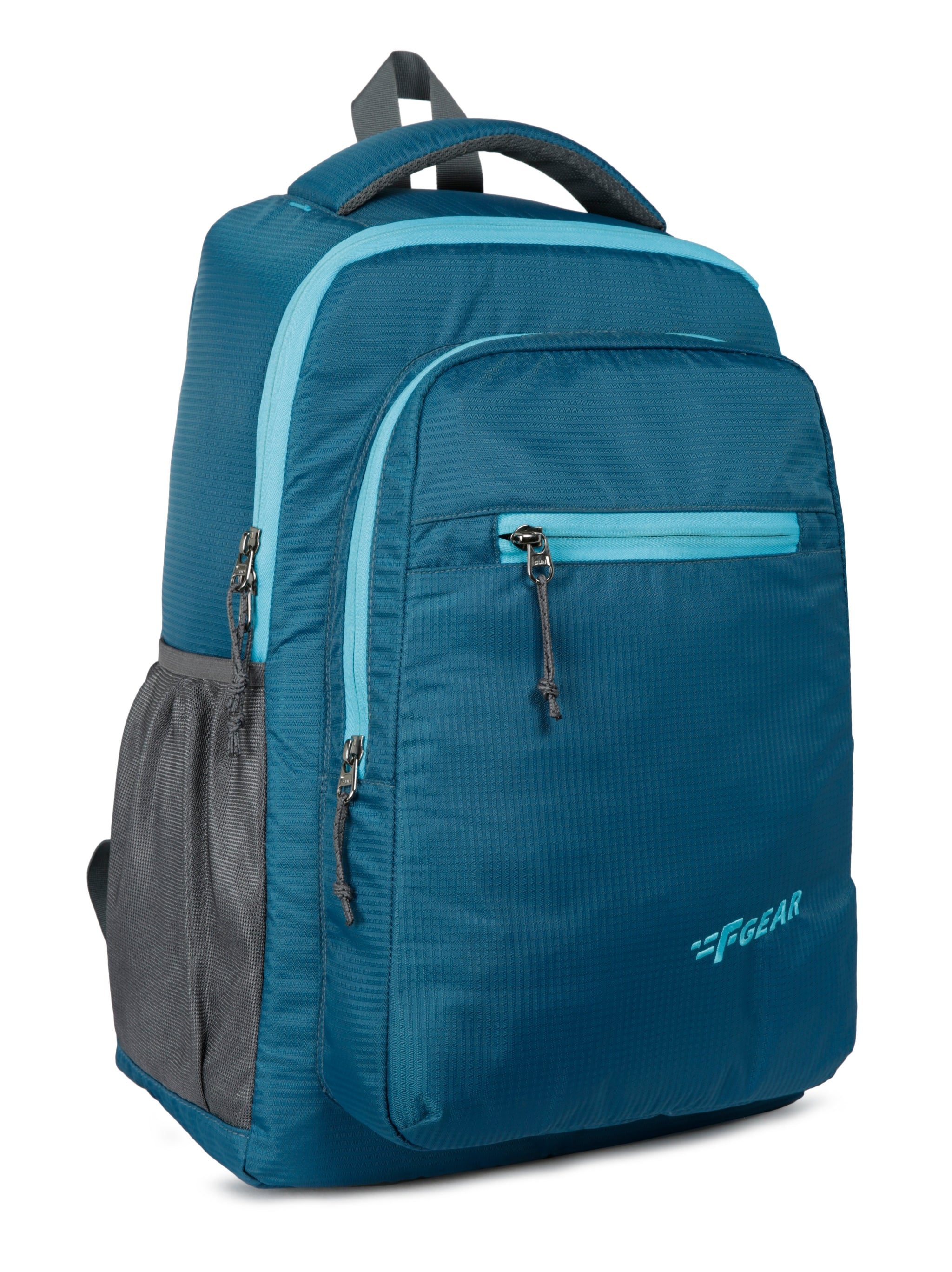 F Gear Murphy Doby 27 Ltrs Peacock Blue Casual Backpack (3163)